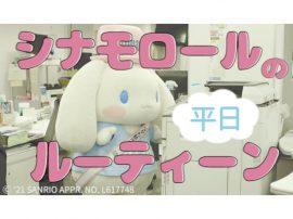 サイトリニューアル!<br>シナモロールのルーティーン動画をチェックしよう!